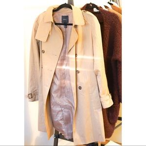 EUC Forever 21 Light Trench Coat